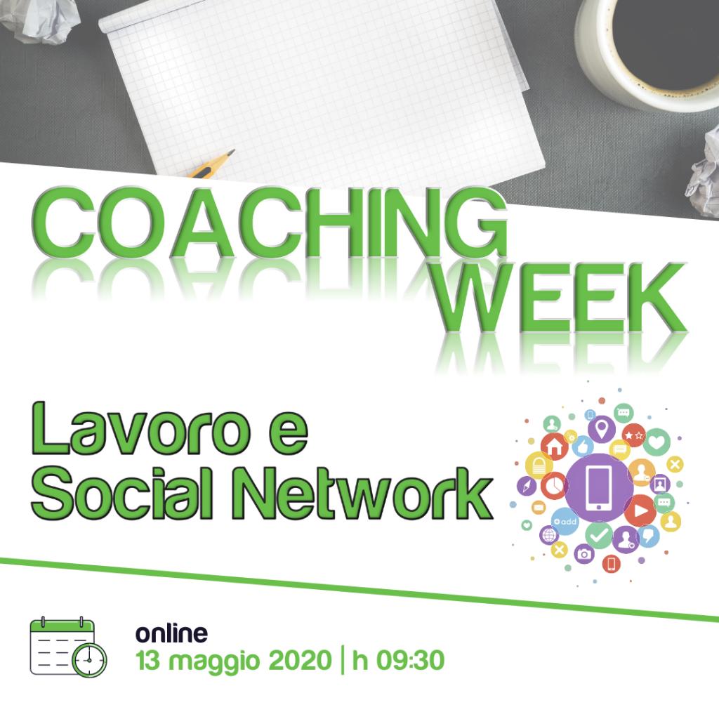 Coaching Week BdP | Lavoro e Social Network