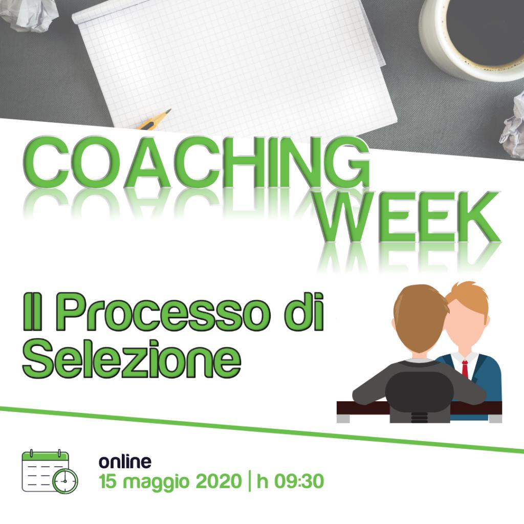 Coaching Week BdP | Il Processo di Selezione