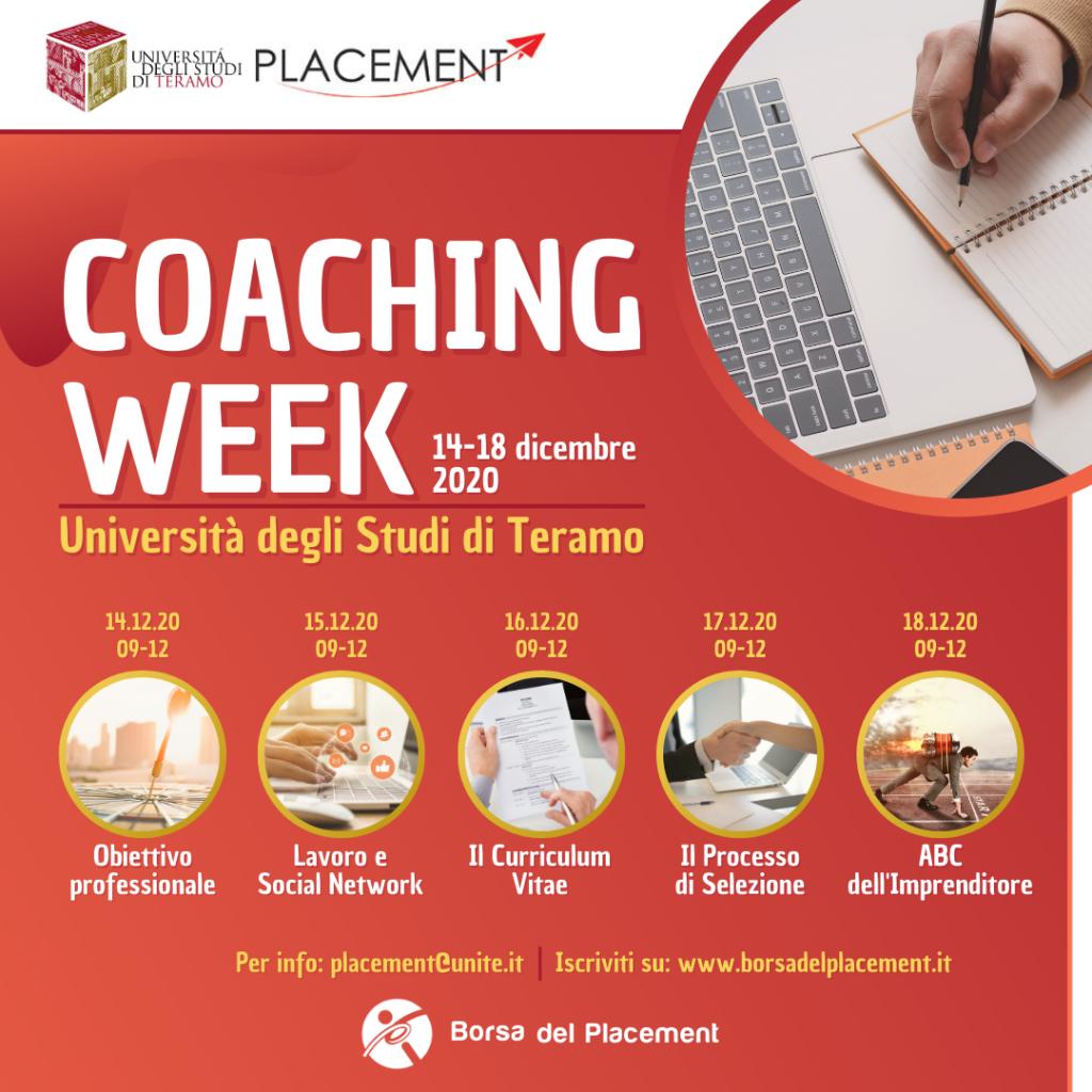 Università degli Studi di Teramo | Coaching Week
