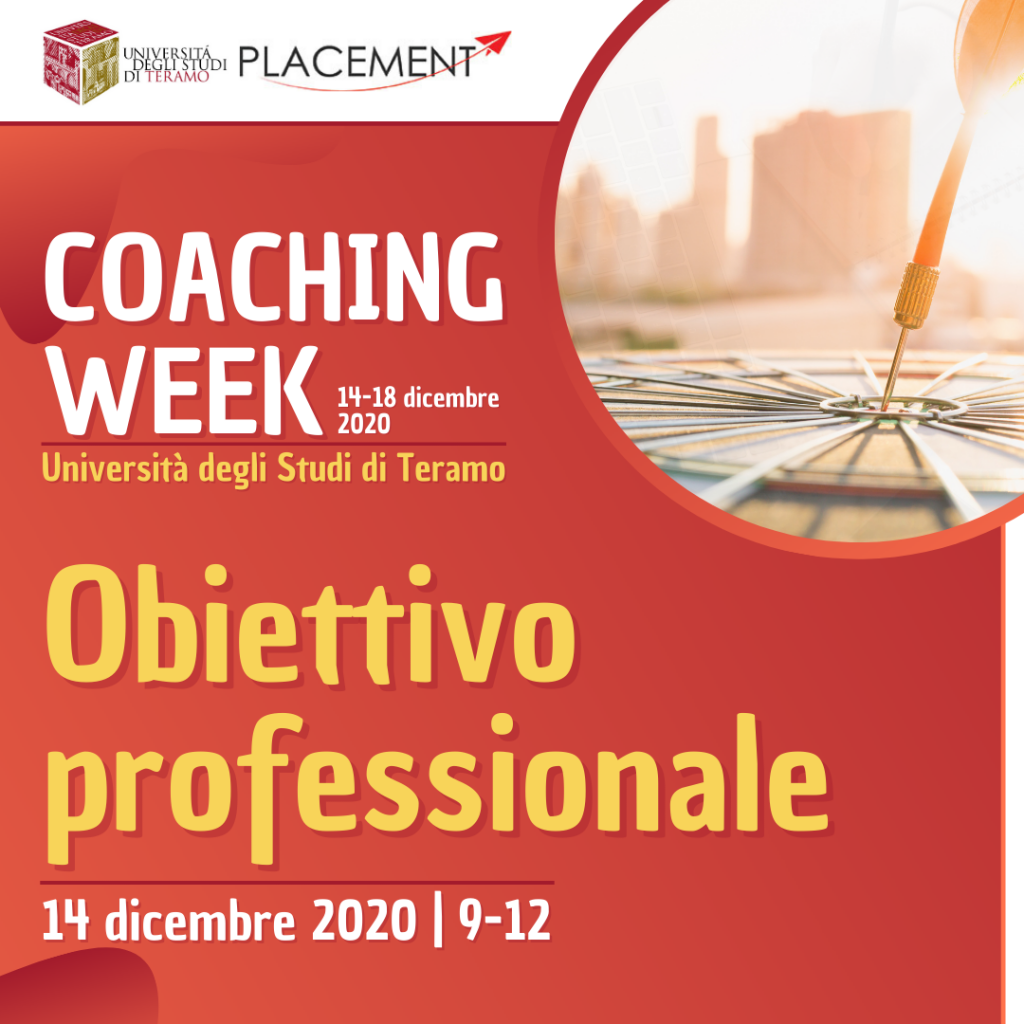 UniTE | Coaching Week | Obiettivo professionale