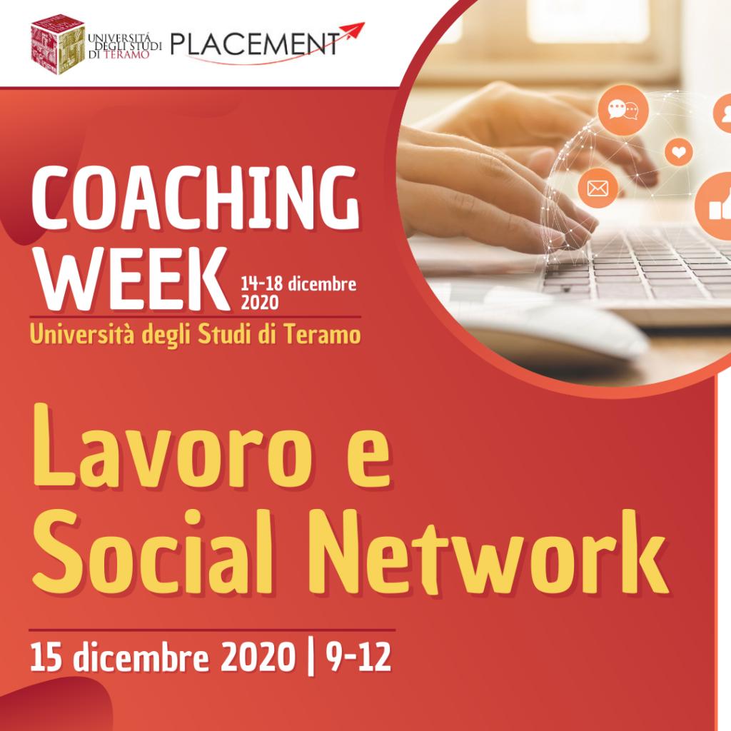 UniTE | Coaching Week | Lavoro e Social Network