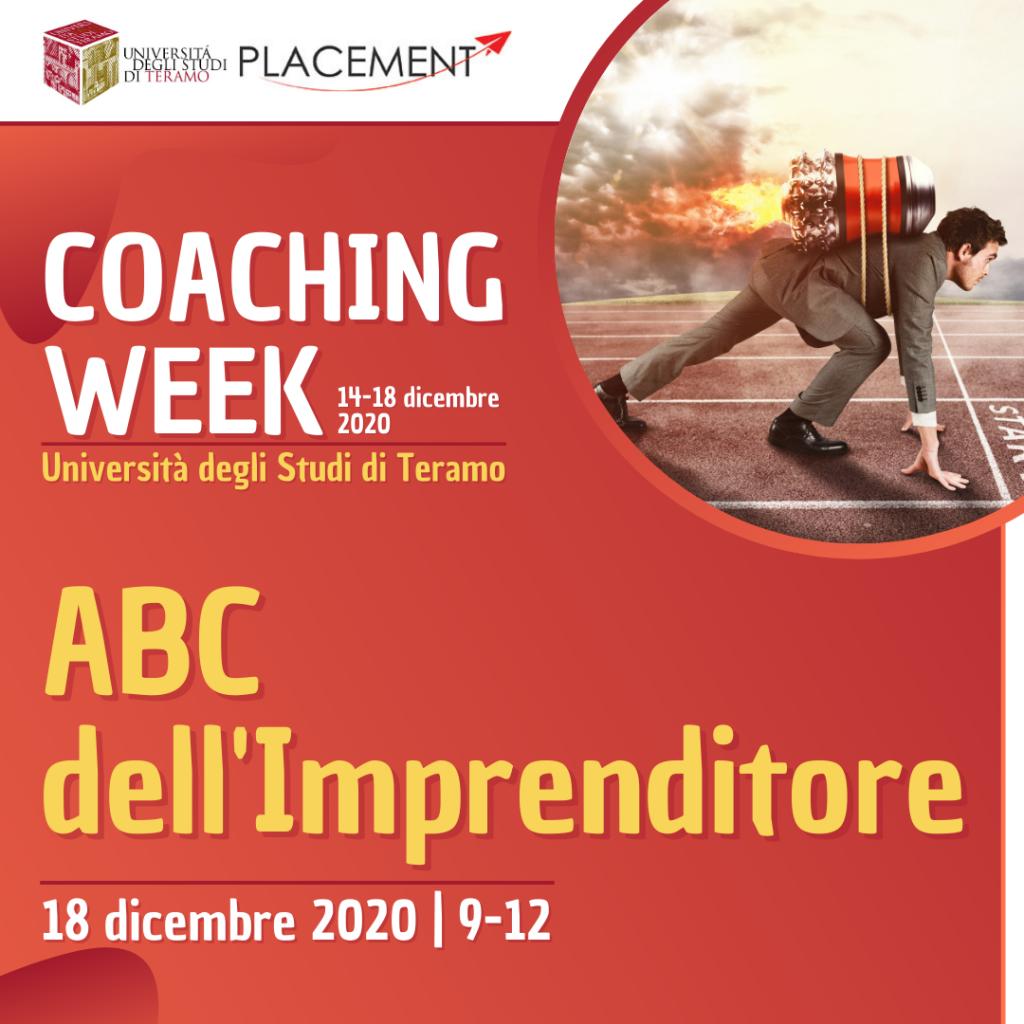 UniTE | Coaching Week | ABC dell'Imprenditore