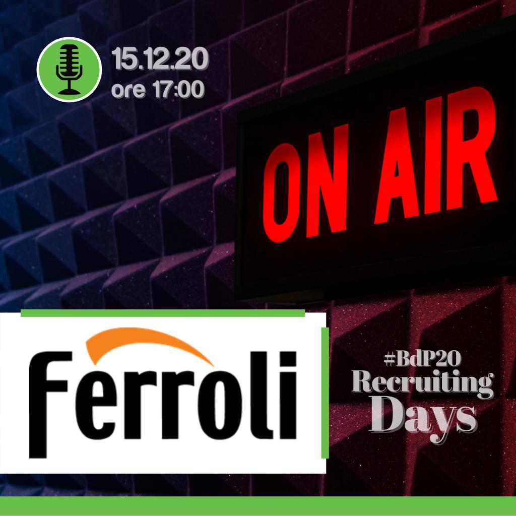 Recruiting Day | Ferroli