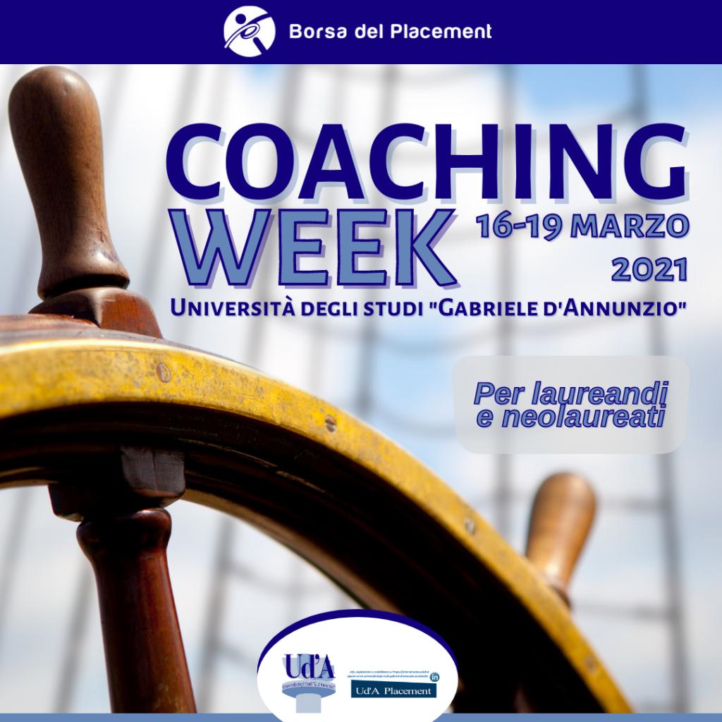 Coaching Week | Università degli Studi 'G. d'Annunzio'