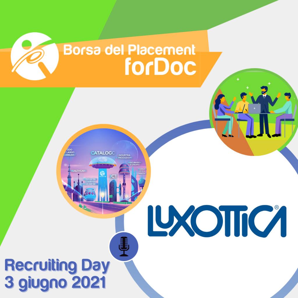 Recruiting Day forDoc | Luxottica