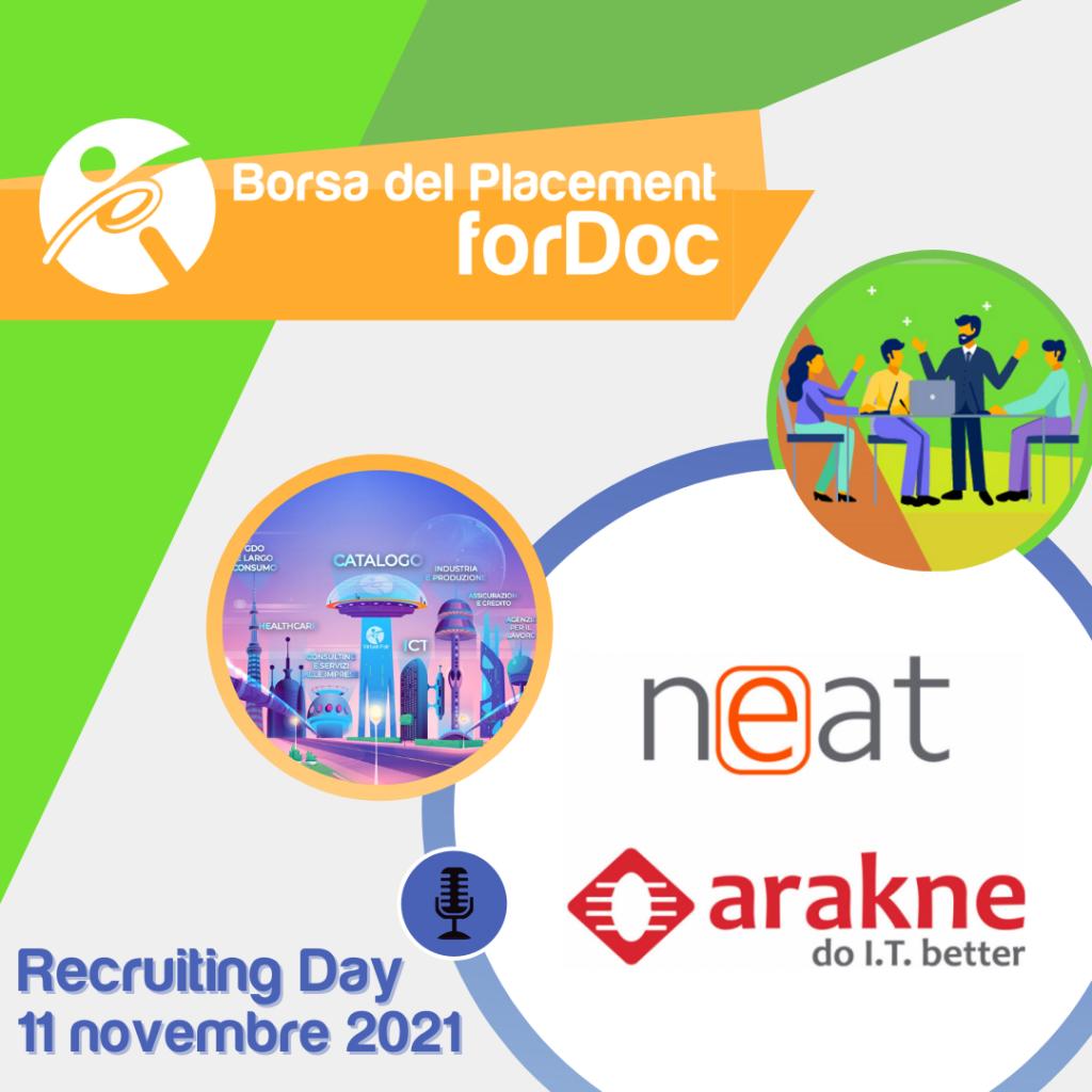 Recruiting Day forDoc | Gruppo Neat Arakne
