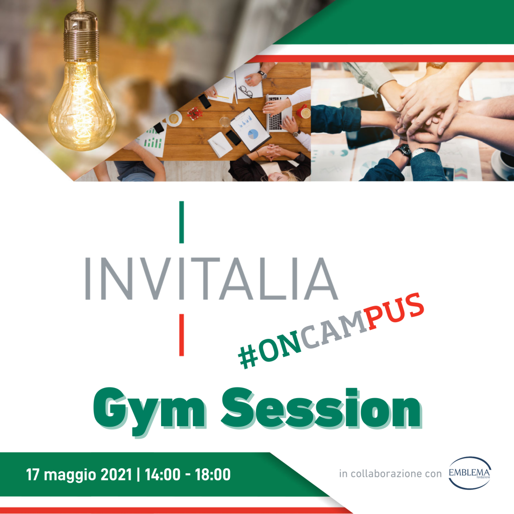Invitalia #oncampus 2021 | Gym Session