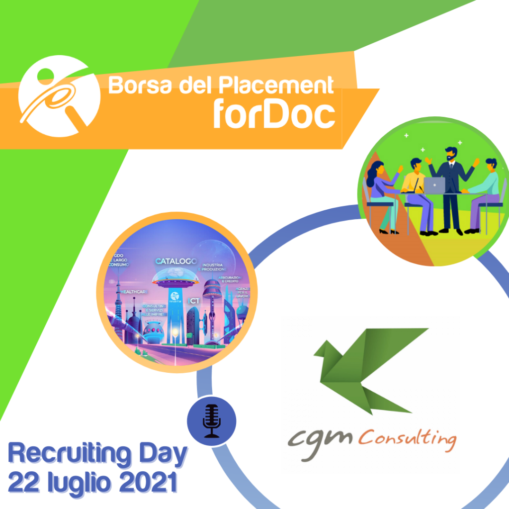 Recruiting Day forDoc | CGM Consulting