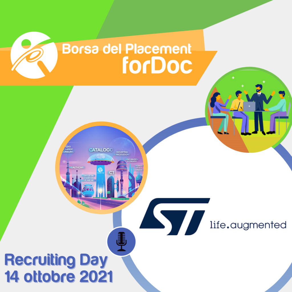 Recruiting Day forDoc | STMicroelectronics