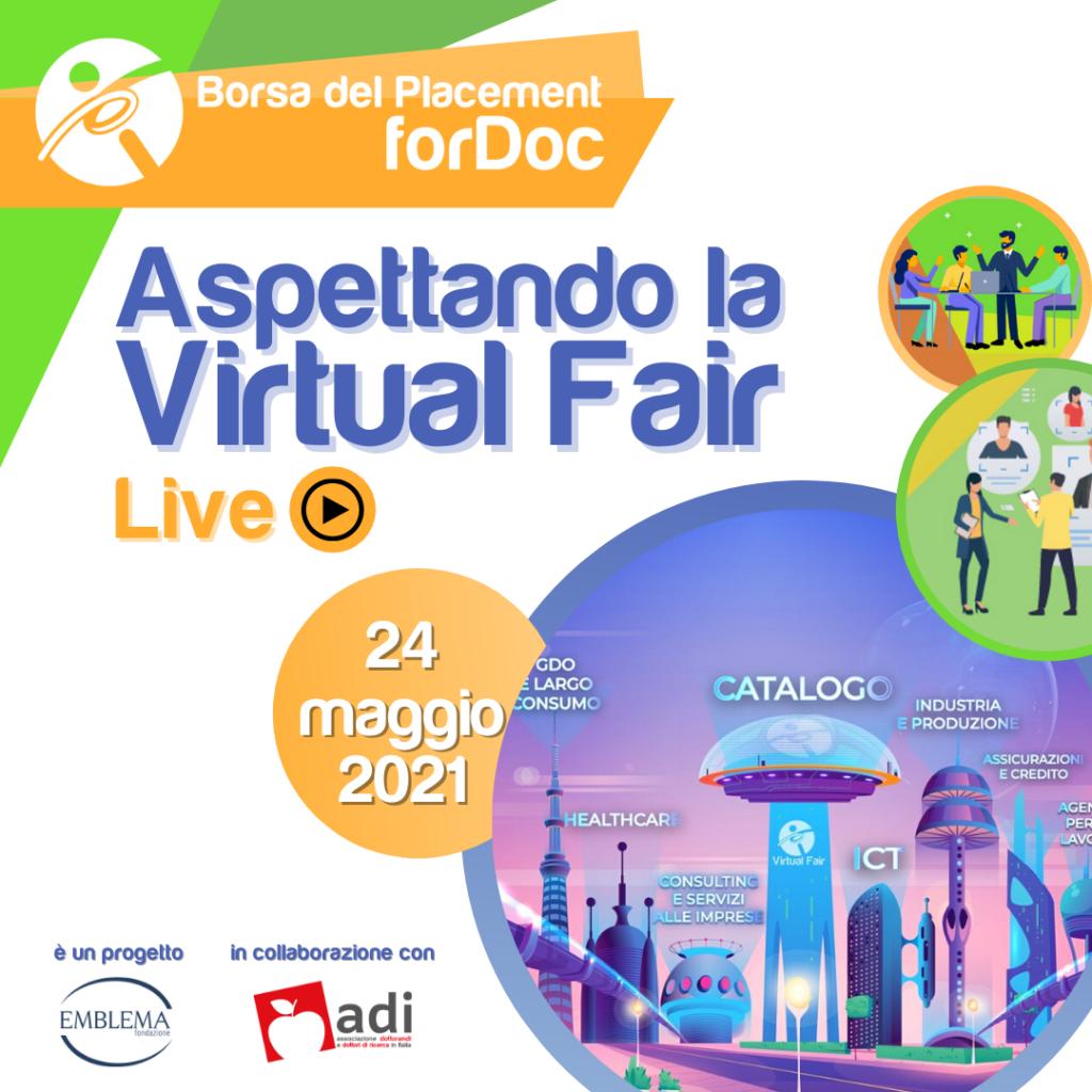 forDoc | Live |  Aspettando la Virtual Fair