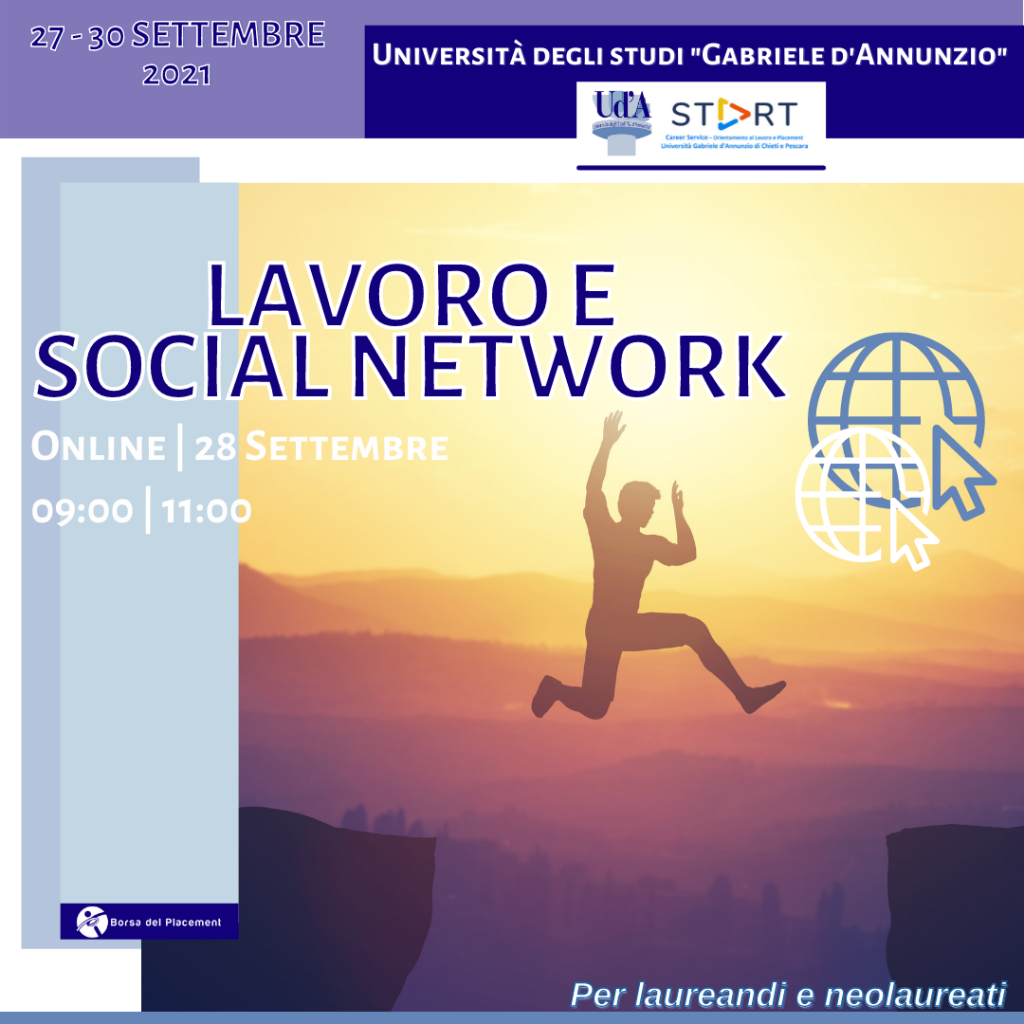 Coaching Week | Lavoro e Social Network | Ud'A