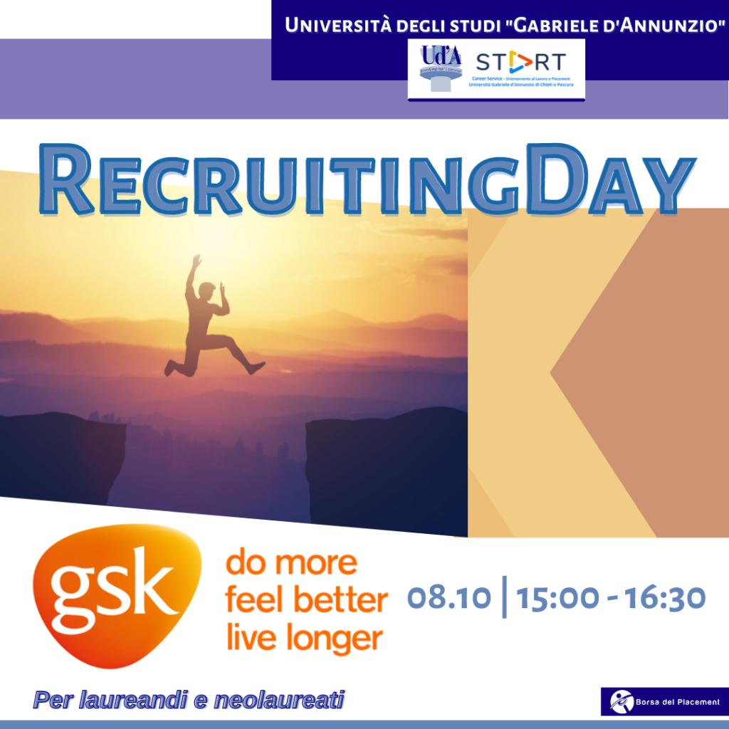 Recruiting Day | Ud'A | GlaxoSmithKline
