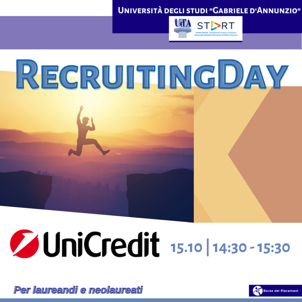 Recruiting Day   Ud'A   Unicredit