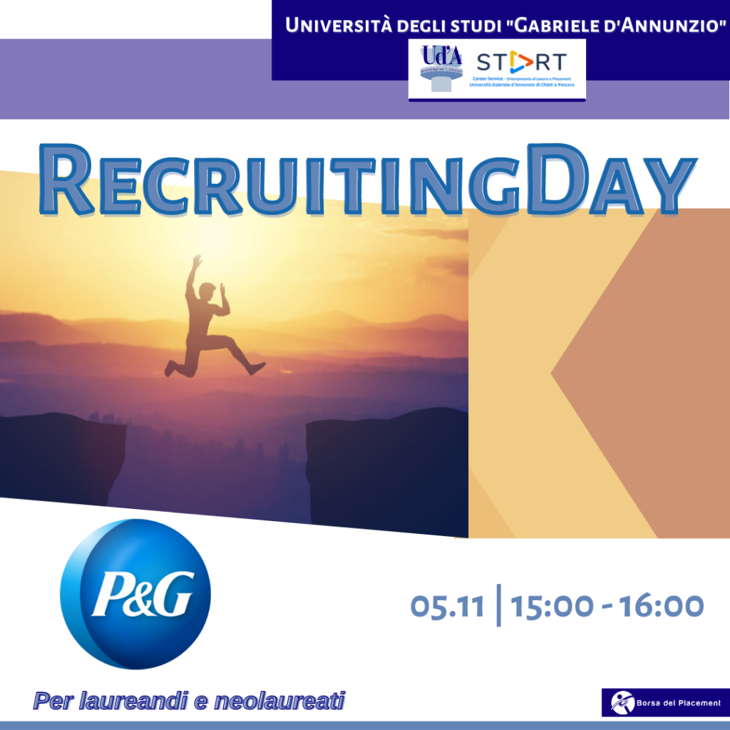Recruiting Day | Ud'A | Procter&Gamble