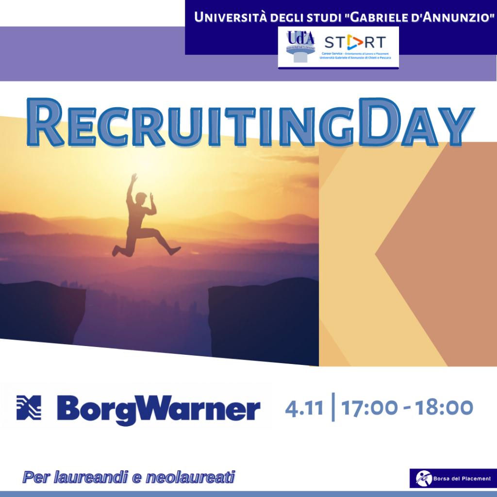 Recruiting Day | Ud'A | BorgWarner