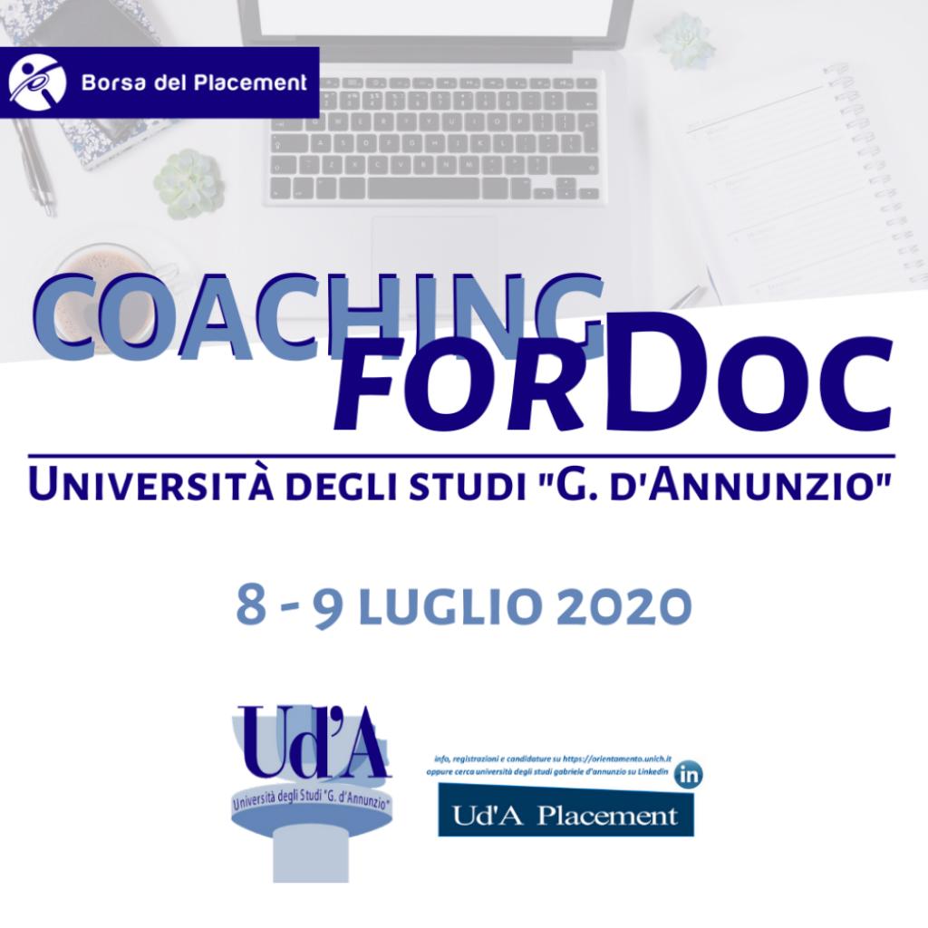 Coaching forDoc | Università degli Studi