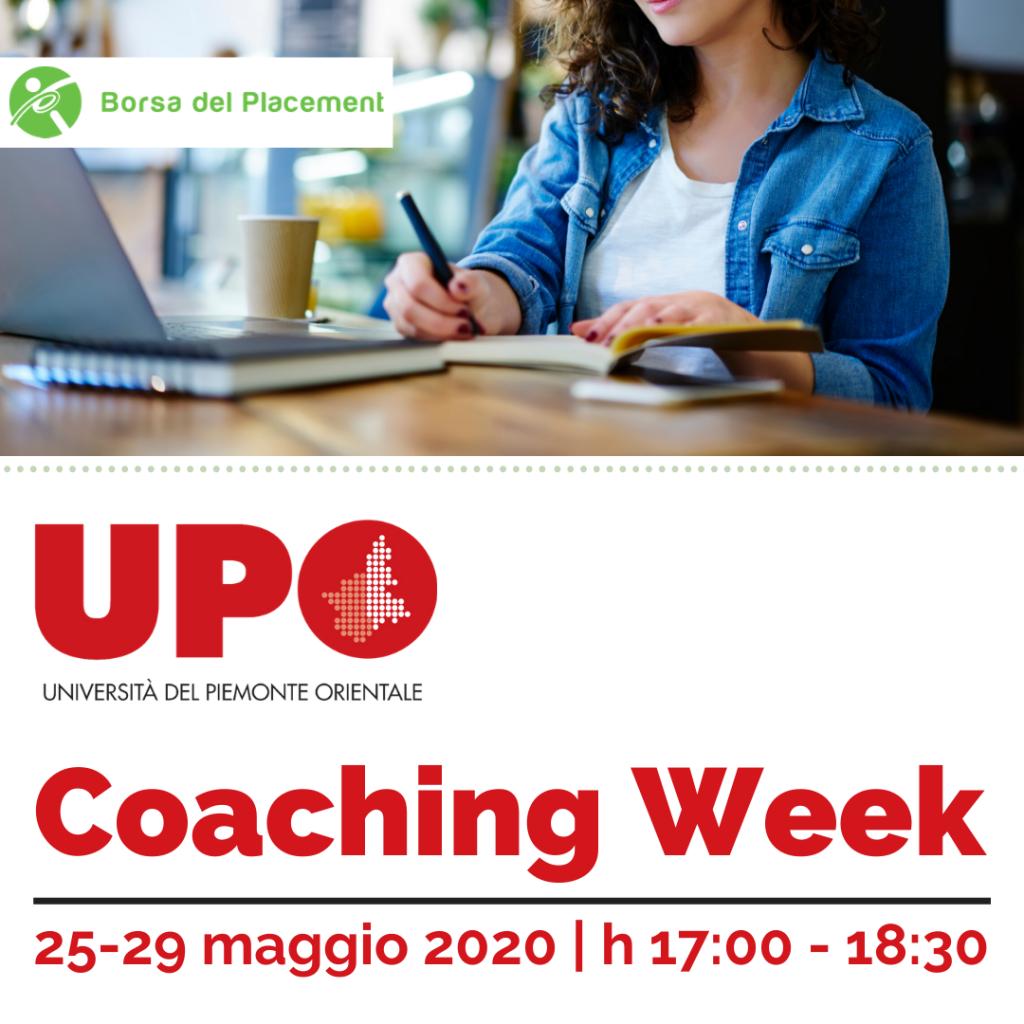 Coaching Week | Università degli Studi del Piemonte Orientale