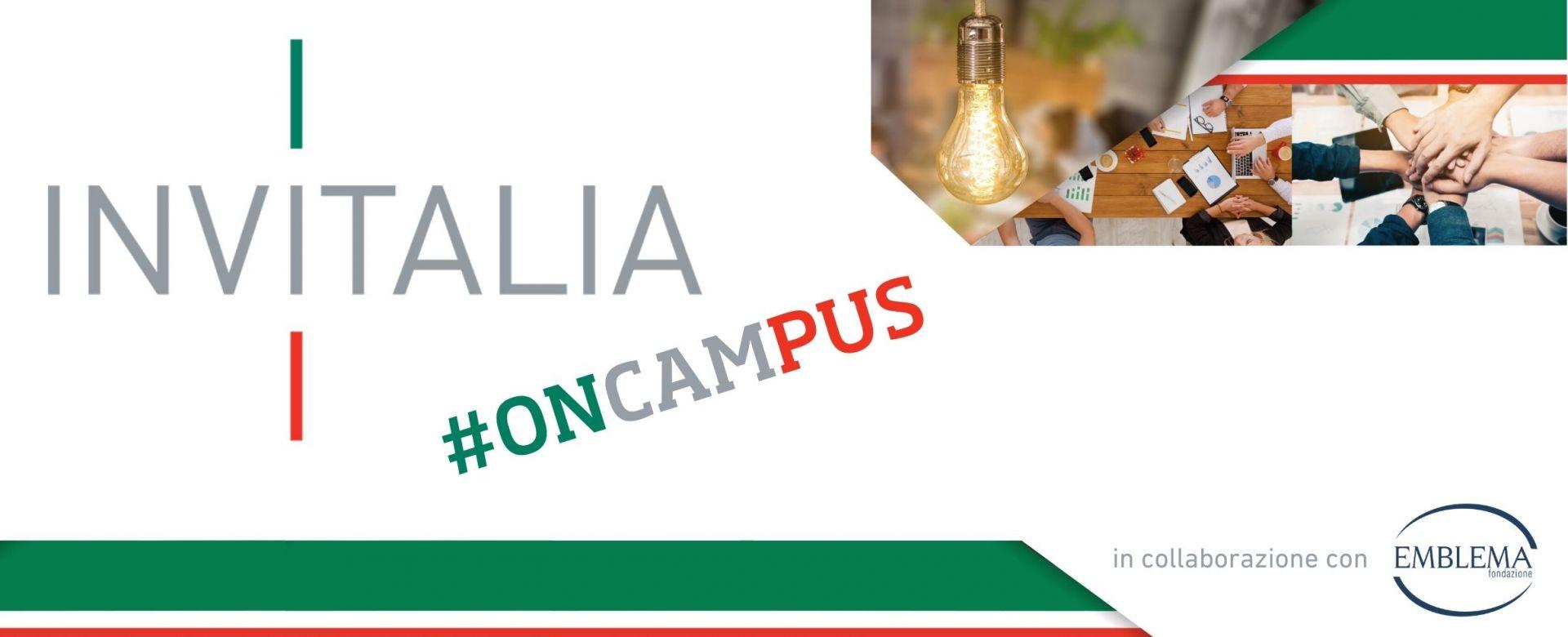27.07.2020 - Invitalia #oncampus