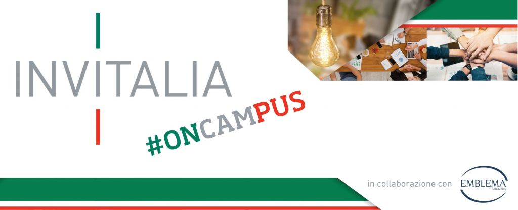 27.07.2020 - Invitalia #oncampus