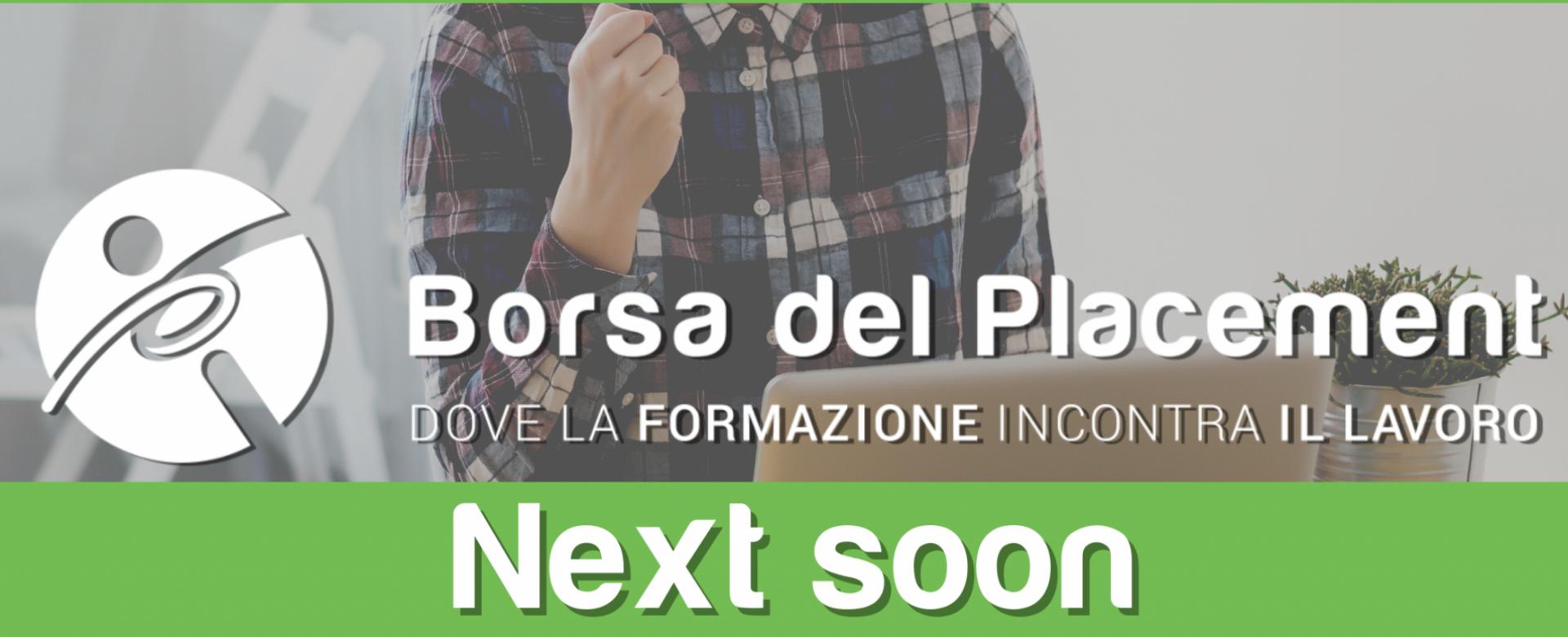 23.06.2020 - Borsa del Placement: Next Soon!