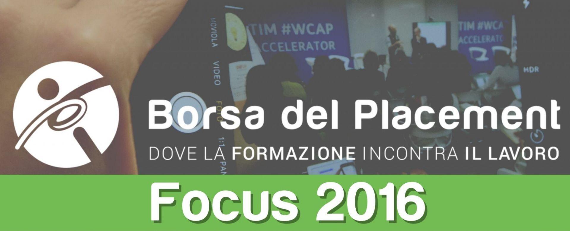 26.09.2016 - Focus 2016: l'importanza degli Alumni