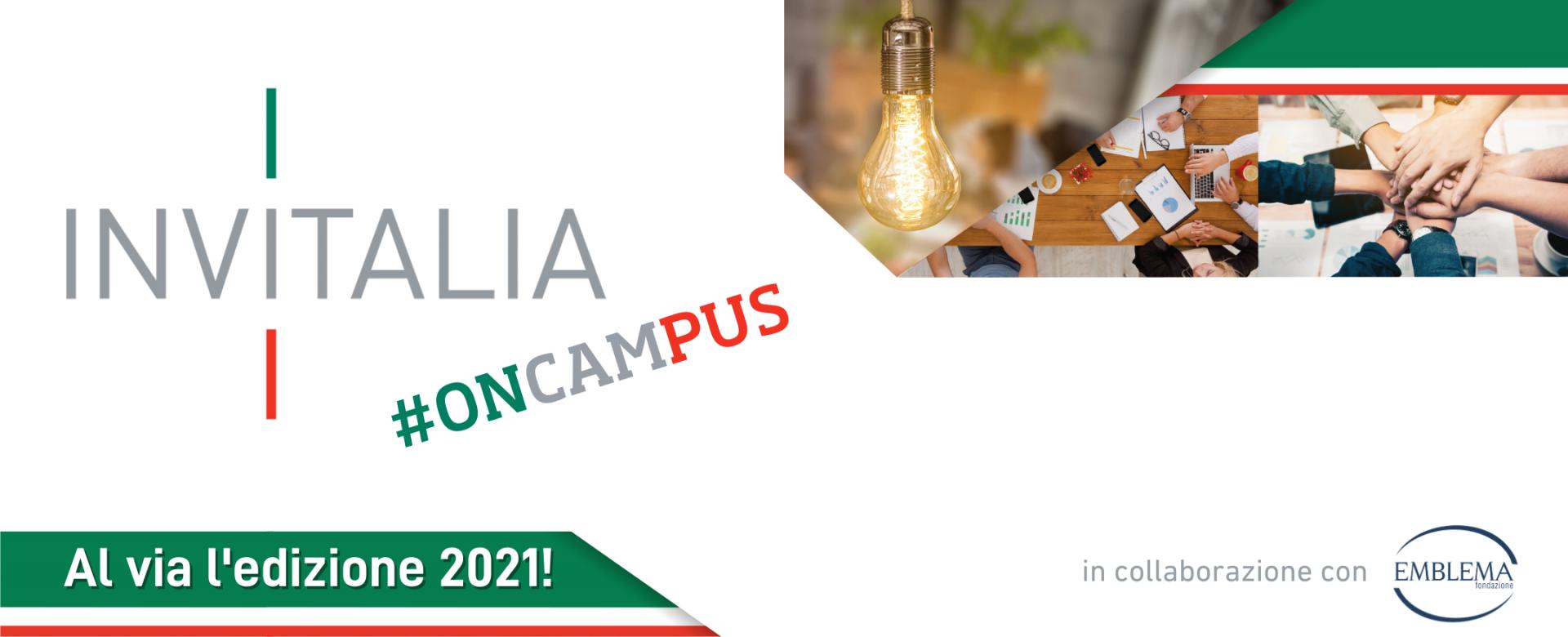 12.04.2021 - Torna Invitalia #onCampus!