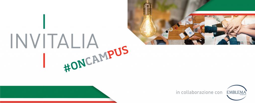 15.09.2021 - Invitalia #oncampus | II ciclo